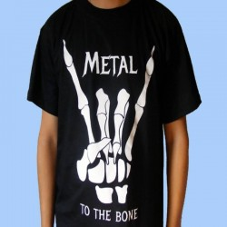 Camiseta METAL To The Bone