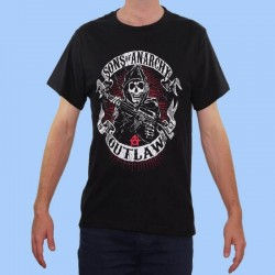 Camiseta SONS OF ANARCHY - Outlaw