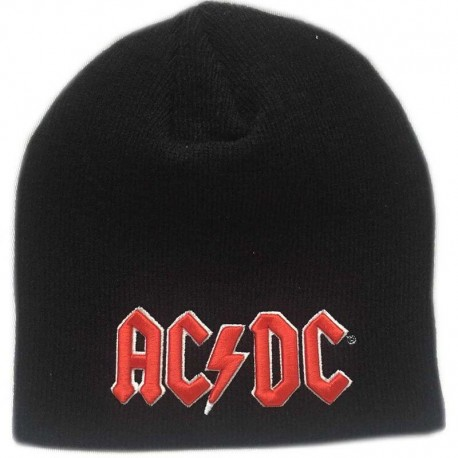 Gorro AC/DC - Logo rojo