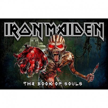 Bandera IRON MAIDEN - The Book of Souls