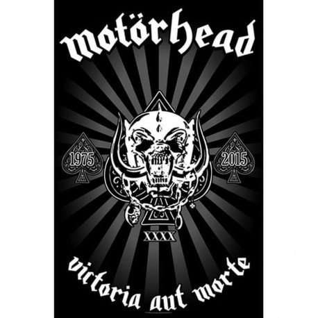 Bandera MOTORHEAD - Victoria Aut Morte 1975 - 2015