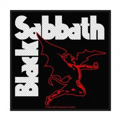 Parche BLACK SABBATH - Logo Criatura
