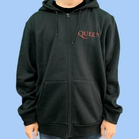 Sudadera QUEEN - Crest logo vintage