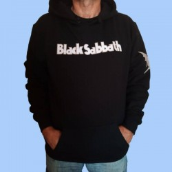 Sudadera BLACK SABBATH - Logotipo y Criatura