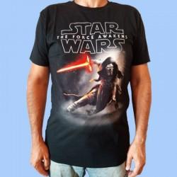 Camiseta STAR WARS - Episode 7 KYLO REN CROUCH