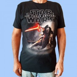 Camiseta STAR WARS - Episode 7 KYLO REN CROUCH