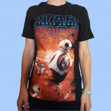 Camiseta STAR WARS BB-8 Episode VII - The Force Awakens