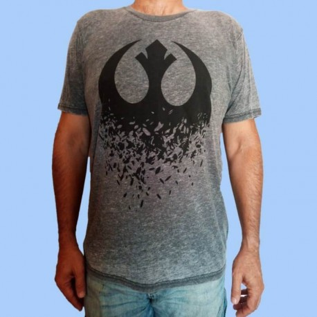 Camiseta STAR WARS - Rebel Logotipo Episodio VIII - Los últimos Jedi