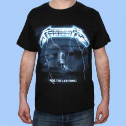 Camiseta METALLICA - Ride The Lightning