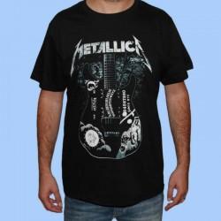 Camiseta METALLICA - Ouija la guitarra de Kirk Hammett