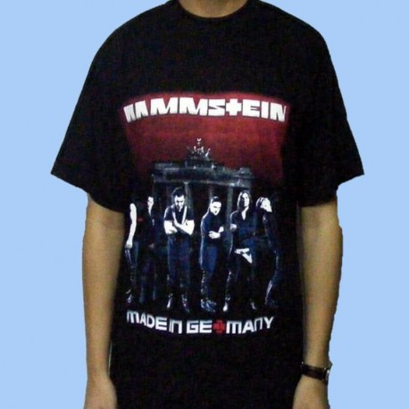 Camiseta RAMMSTEIN - Made In Germany