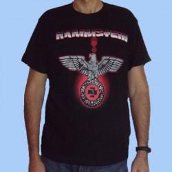 Camiseta RAMMSTEIN - Logotipo rojo
