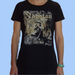 Camiseta mujer SABATON - The Great War