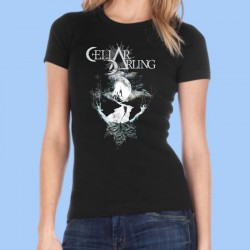 Camiseta mujer CELLAR DARLING - Black Moon
