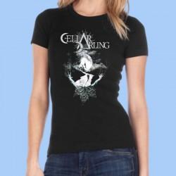 Camiseta mujer CELLAR DARLING - Black Moon
