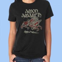 Camiseta mujer AMON AMARTH - Odin