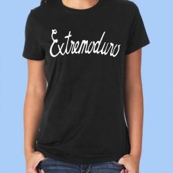 Camiseta mujer EXTREMODURO - Logotipo