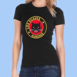 Camiseta mujer LOS SUAVES - Logotipo