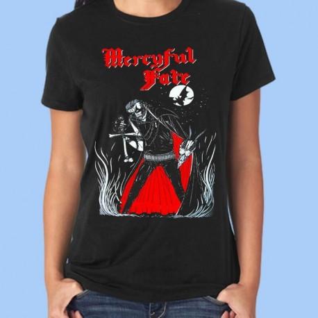 Camiseta mujer MERCYFUL FATE - King Diamond