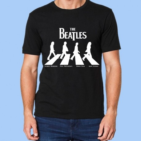 Camiseta THE BEATLES - Abbey Road