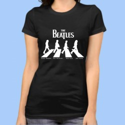 Camiseta mujer THE BEATLES - Abbey Road