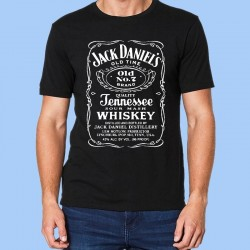 Camiseta JACK DANIELS - Logotipo Old No 7