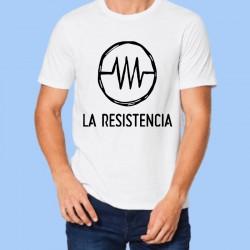 Camiseta blanca La Resistencia