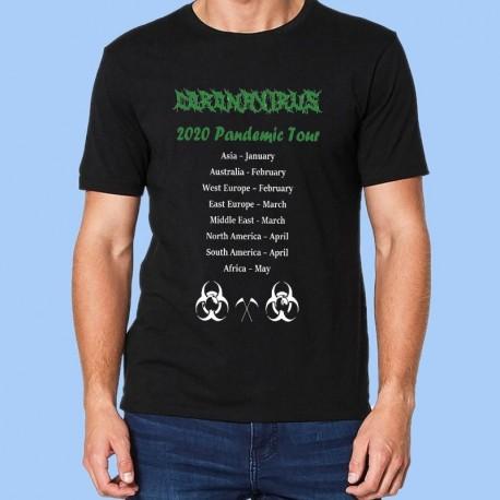 Camiseta divertida - CORONAVIRUS - Pandemic Tour 2020