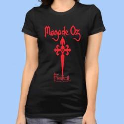Camiseta mujer MAGO DE OZZ - Finisterra Opera Rock