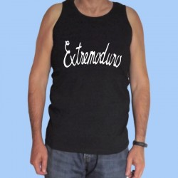 Camiseta sin mangas hombre EXTREMODURO - Logotipo blanco