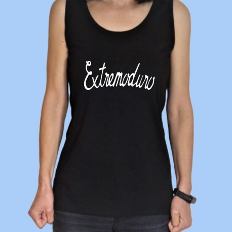 Camiseta sin mangas mujer EXTREMODURO - Logotipo