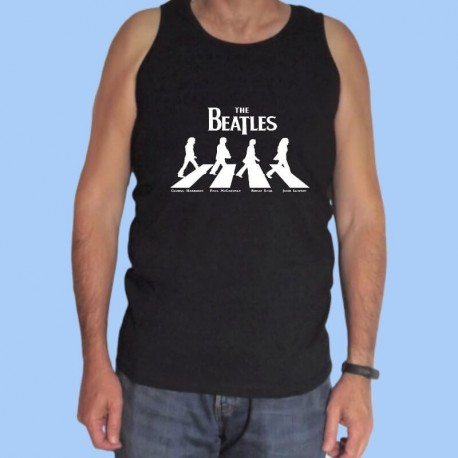 Camiseta sin mangas hombre THE BEATLES - Abbey Road