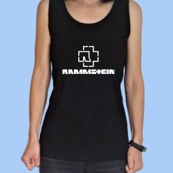 Camiseta sin mangas mujer RAMMSTEIN - Logotipo