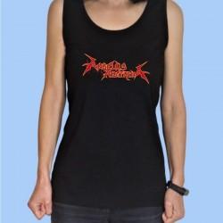 Camiseta sin mangas mujer ANGELUS APATRIDA - Logotipo