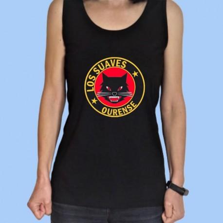 Camiseta sin mangas mujer LOS SUAVES - Logotipo