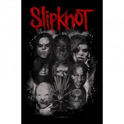 Bandera SLIPKNOT - Las mascarillas