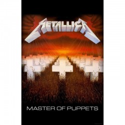 Bandera METALLICA - Master Of Puppets