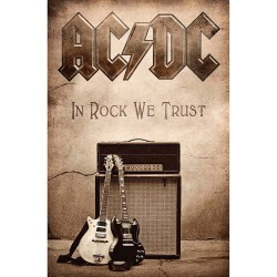 Bandera AC/DC - In Rock We Trust