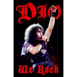 Bandera DIO - We Rock