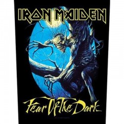 Parche para espalda IRON MAIDEN - FEAR OF THE DARK