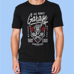 Camiseta hombre GAS MONKEY - Fast N Loud - Pistónes