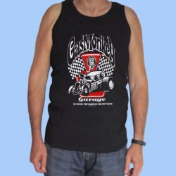 Camiseta sin mangas hombre GAS MONKEY GARAGE - The Fastest
