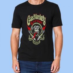 Camiseta hombre GAS MONKEY GARAGE - Sangre, Sudor, Cervezas
