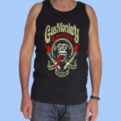 Camiseta sin mangas hombre GAS MONKEY GARAGE - Sangre, Sudor, Cervezas