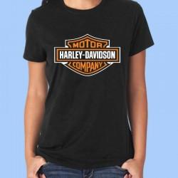 Camiseta mujer HARLEY DAVIDSON - Logotipo