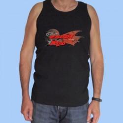 Camiseta sin mangas hombre BARÓN ROJO - Logotipo