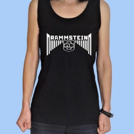 Camiseta sin mangas mujer RAMMSTEIN - El nuevo logotipo