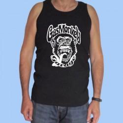 Camiseta sin mangas hombre GAS MONKEY - Logotipo blanco