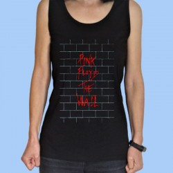 Camiseta sin mangas mujer PINK FLOYD - The Wall