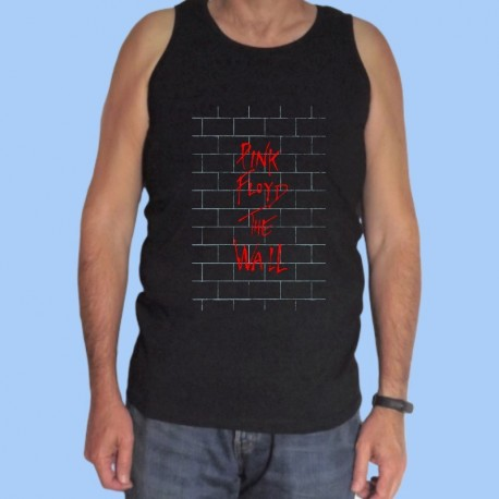 Camiseta sin mangas hombre PINK FLOYD - The Wall